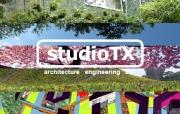 logo studioTX architecture interior & design